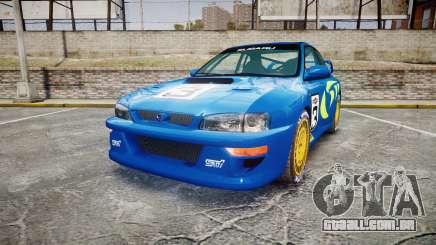 Subaru Impreza WRC 1998 World Rally v3.0 Green para GTA 4