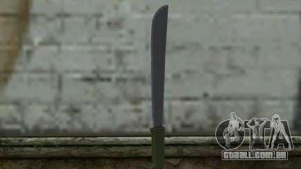 Machete (DayZ Standalone) v1 para GTA San Andreas