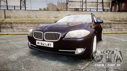 BMW 530d F11 Unmarked Police [ELS] para GTA 4