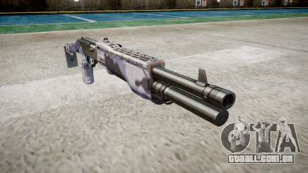 Ружье Franchi SPAS-12 Blue Tiger para GTA 4
