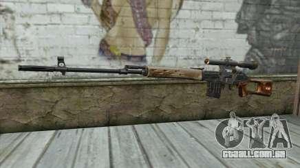Rifle Sniper Dragunov para GTA San Andreas