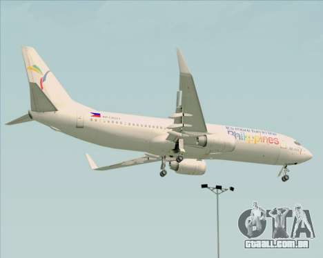 Boeing 737-800 South East Asian Airlines (SEAIR) para GTA San Andreas vista traseira