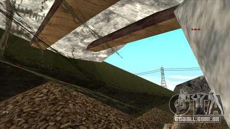 Трасса Offroad v1.1 por Rappar313 para GTA San Andreas sétima tela