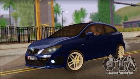 Seat Ibiza Cupra 2010 para GTA San Andreas