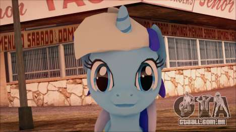 Colgate from My Little Pony para GTA San Andreas terceira tela