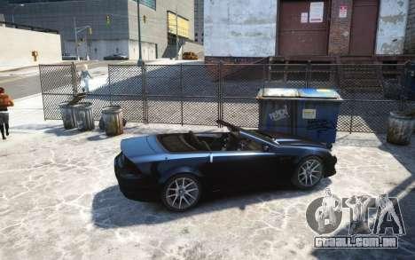 Benefactor Feltzer Grey Series v3 para GTA 4 esquerda vista