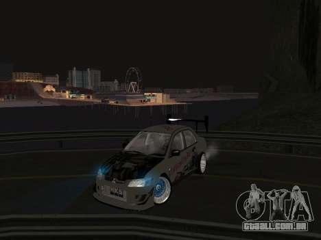 Mitsubishi Lancer Evo 9 VCDT para GTA San Andreas