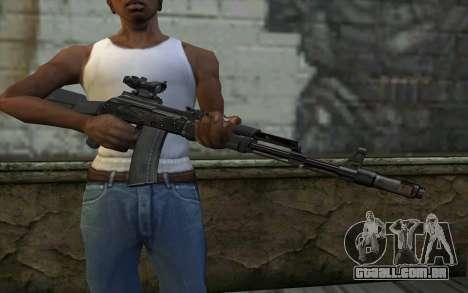 Glock-17 Silenced para GTA San Andreas terceira tela