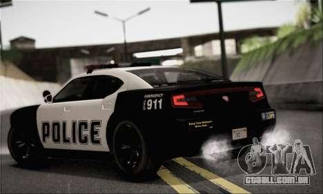 Bravado Buffalo S Police Edition (IVF) para GTA San Andreas esquerda vista
