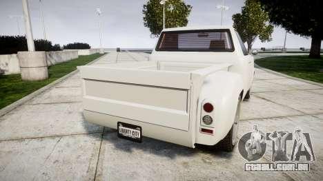 Vapid Bobcat Badass para GTA 4 traseira esquerda vista