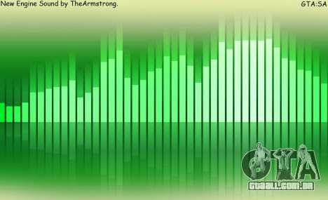 Novos sons de aluguer para GTA San Andreas