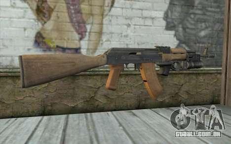 AK-74 Para garantir a nossa para GTA San Andreas segunda tela