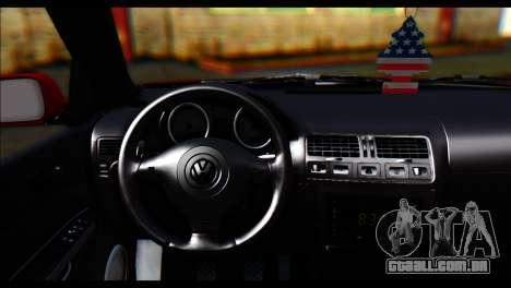Volkswagen BorAir para GTA San Andreas vista direita