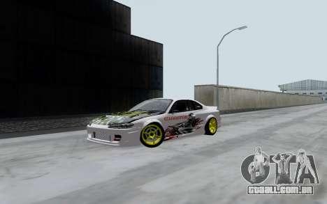Nissan Silvia S15 VCDT para GTA San Andreas esquerda vista