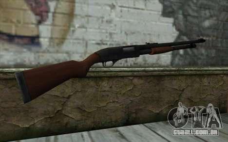 Shotgun from State of Decay para GTA San Andreas segunda tela