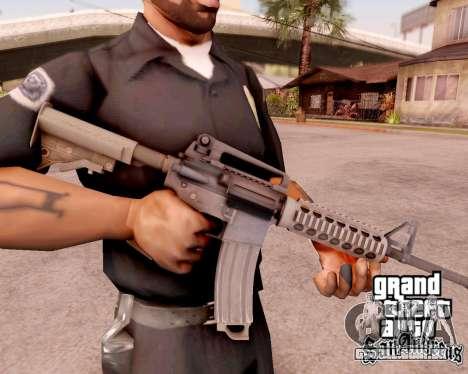 M4A1 BF4 para GTA San Andreas