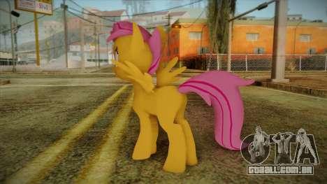 Scootaloo from My Little Pony para GTA San Andreas segunda tela