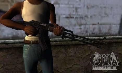 AK47 from State of Decay para GTA San Andreas terceira tela