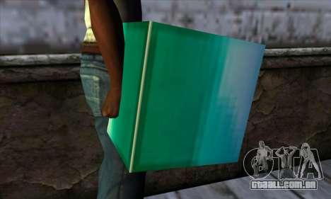 Bloco (Minecraft) v10 para GTA San Andreas terceira tela