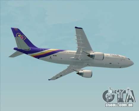 Airbus A300-600 Thai Airways International para o motor de GTA San Andreas