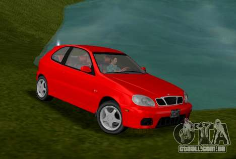 Daewoo Lanos Esporte EUA 2001 para GTA Vice City
