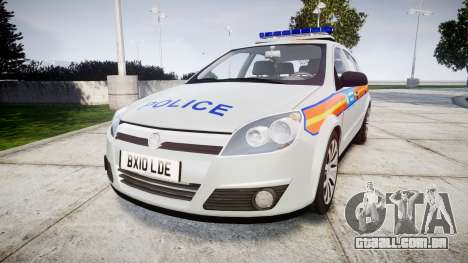Vauxhall Astra 2010 Metropolitan Police [ELS] para GTA 4