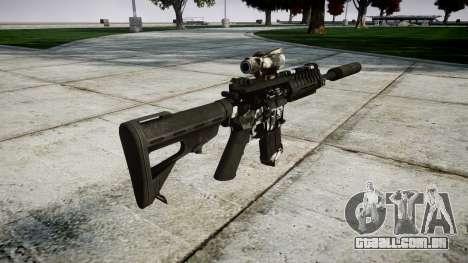 Máquina P416 ACOG silenciador PJ3 para GTA 4 segundo screenshot