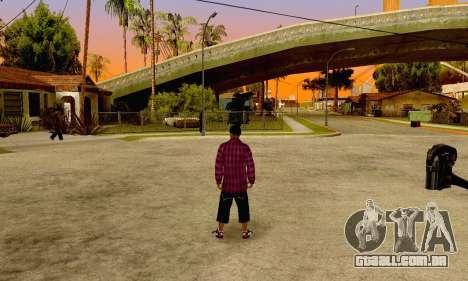 The Ballas Gang Skin Pack para GTA San Andreas sexta tela