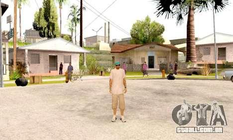 Varios Los Aztecas Gang Skin pack para GTA San Andreas quinto tela