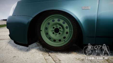 ВАЗ-Lada 2170 Priora stamping para GTA 4 vista de volta
