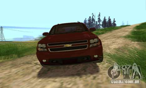 Chevrolet Tahoe Final para GTA San Andreas vista inferior