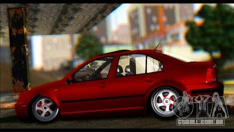 Volkswagen BorAir para GTA San Andreas esquerda vista