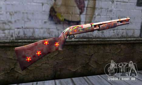 Chromegun v2 Cor para colorir para GTA San Andreas segunda tela