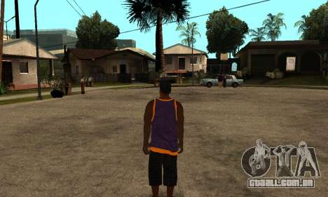 The Ballas Skin Pack para GTA San Andreas segunda tela