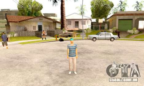 Varios Los Aztecas Gang Skin pack para GTA San Andreas terceira tela