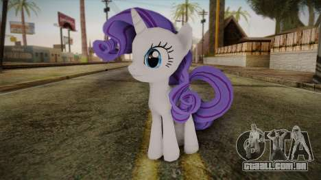 Rarity from My Little Pony para GTA San Andreas