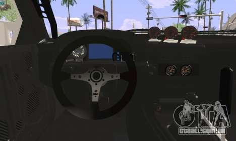 Mazda FC3S para GTA San Andreas traseira esquerda vista