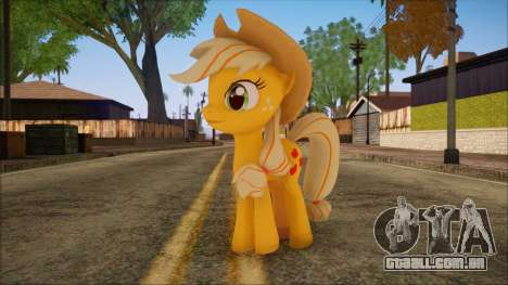 Applejack from My Little Pony para GTA San Andreas