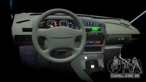 VAZ-2114 Samara-2 para GTA 4 vista interior