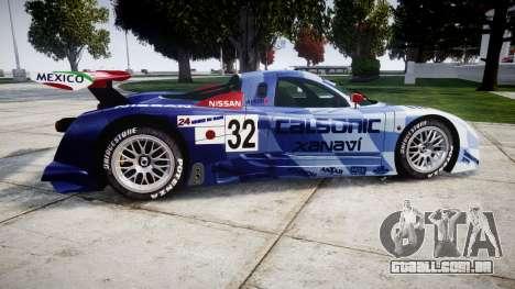 Nissan R390 GT1 1998 para GTA 4 esquerda vista