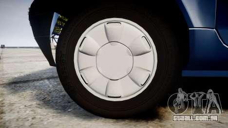 Renault Twingo I para GTA 4 vista de volta