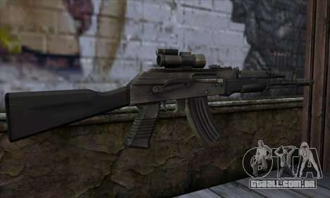 AK-103 Ravaged para GTA San Andreas segunda tela