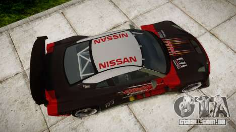 Nissan GT-R Super GT [RIV] para GTA 4 vista direita