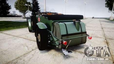 Bentley Blower 4.5 Litre Supercharged [low] para GTA 4 traseira esquerda vista