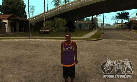 The Ballas Skin Pack para GTA San Andreas