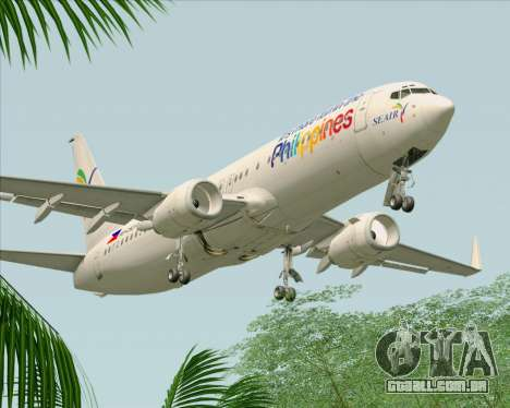 Boeing 737-800 South East Asian Airlines (SEAIR) para o motor de GTA San Andreas