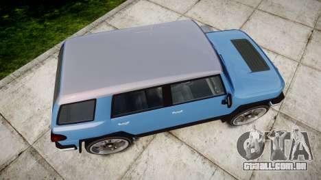 GTA V Karin BeeJay XL para GTA 4 vista direita