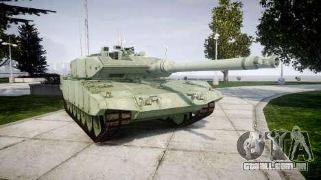 Leopard 2A7 DE Green para GTA 4