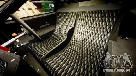 Ford GT40 Mark IV 1967 PJ 17 para GTA 4 vista interior