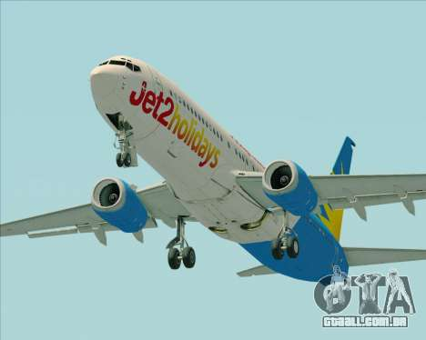 Boeing 737-800 Jet2Holidays para o motor de GTA San Andreas